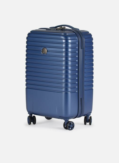 Luggage Delsey Caumartin + Val Tr Cab 4Dr 55 Blue model view