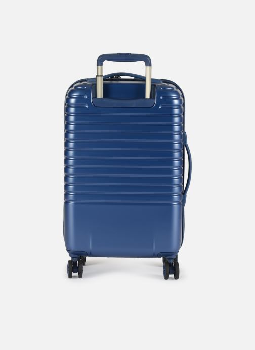 Luggage Delsey Caumartin + Val Tr Cab 4Dr 55 Blue front view