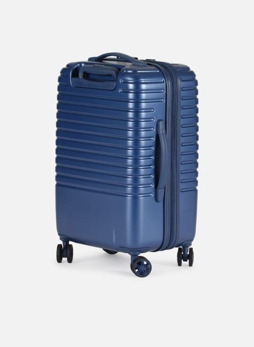 Bagages Delsey Caumartin + Val Tr Cab 4Dr 55 Bleu vue droite
