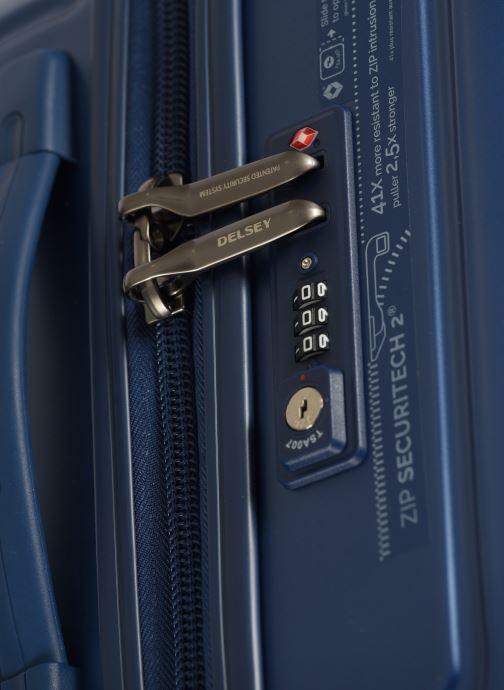 Bagages Delsey Caumartin + Val Tr Cab 4Dr 55 Bleu vue gauche
