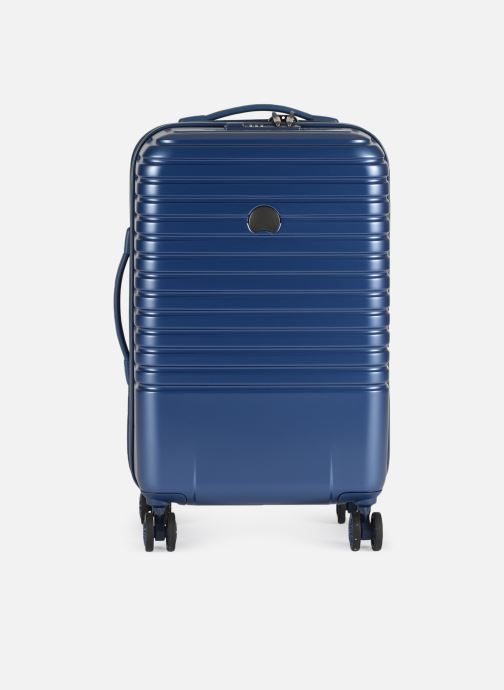 Luggage Delsey Caumartin + Val Tr Cab 4Dr 55 Blue detailed view/ Pair view