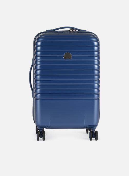 Bagages Delsey Caumartin + Val Tr Cab 4Dr 55 Bleu vue détail/paire