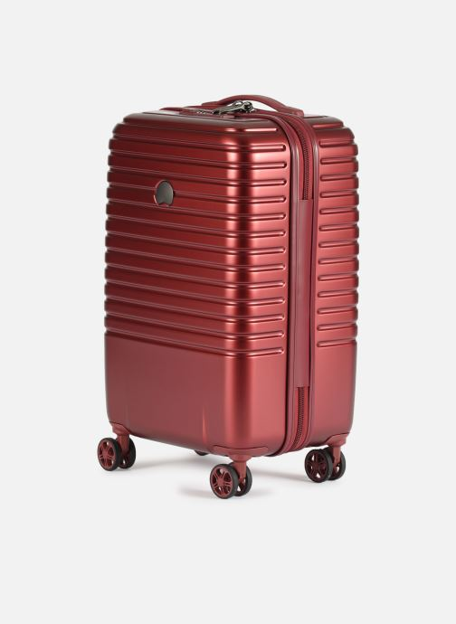 Luggage Delsey Caumartin + Val Tr Cab 4Dr 55 Burgundy model view