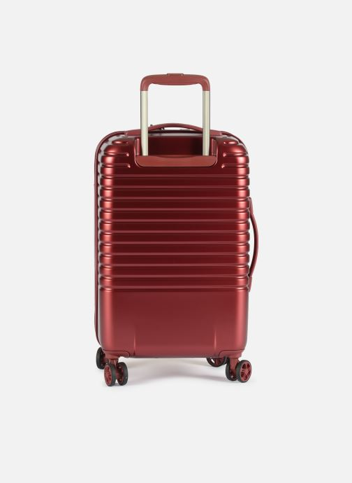 Luggage Delsey Caumartin + Val Tr Cab 4Dr 55 Burgundy front view