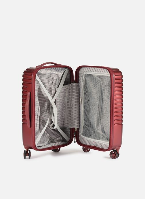 Luggage Delsey Caumartin + Val Tr Cab 4Dr 55 Burgundy back view