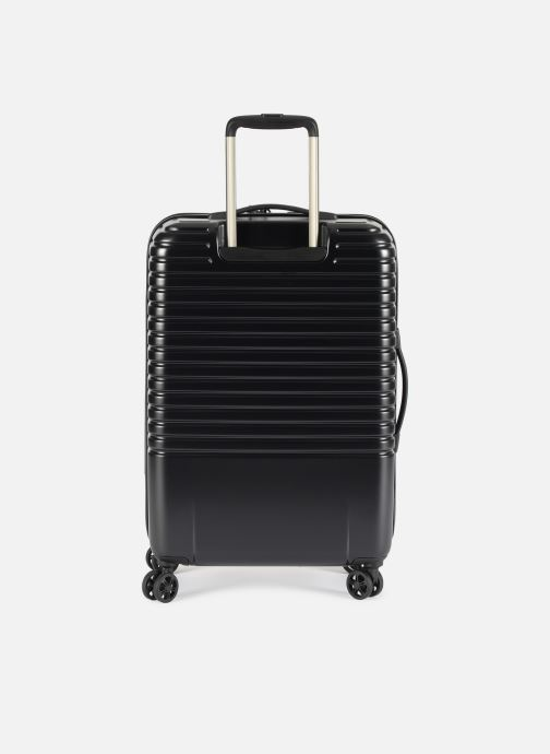 Luggage Delsey Caumartin + Val Tr 4Dr 66 Black front view