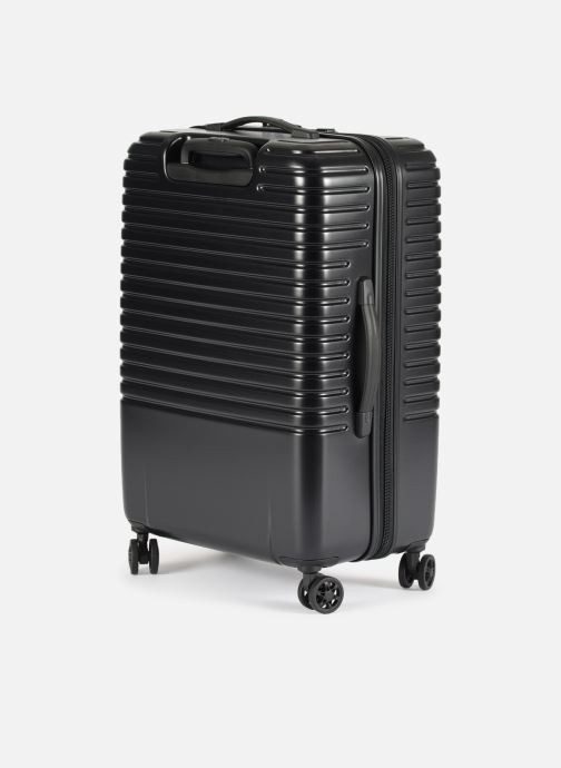 Luggage Delsey Caumartin + Val Tr 4Dr 66 Black view from the right
