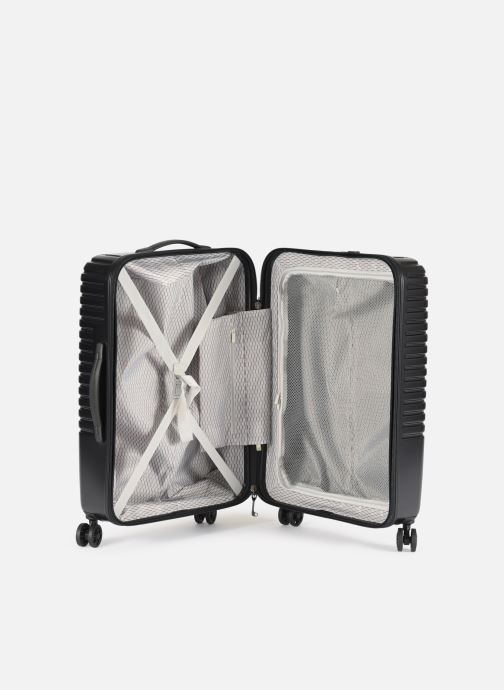 Luggage Delsey Caumartin + Val Tr 4Dr 66 Black back view