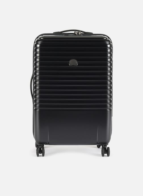 Luggage Delsey Caumartin + Val Tr 4Dr 66 Black detailed view/ Pair view