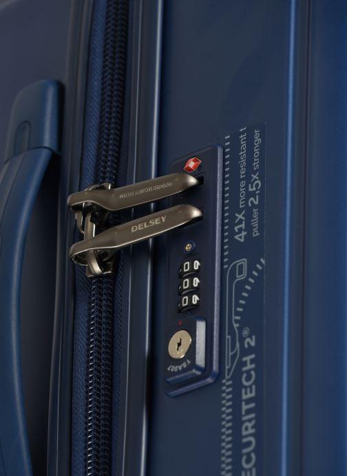 Bagages Delsey Caumartin + Val Tr 4Dr 66 Bleu vue gauche