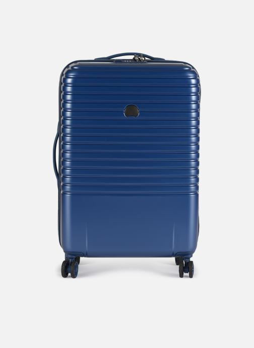Luggage Delsey Caumartin + Val Tr 4Dr 66 Blue detailed view/ Pair view