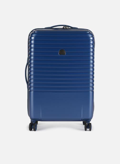 Bagages Delsey Caumartin + Val Tr 4Dr 66 Bleu vue détail/paire