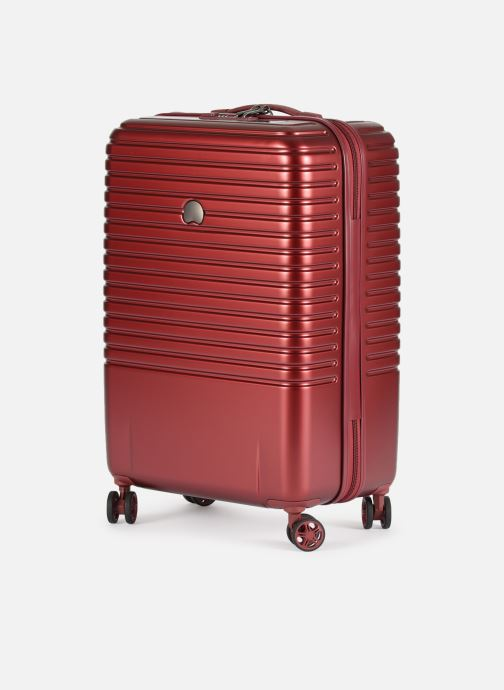Luggage Delsey Caumartin + Val Tr 4Dr 66 Burgundy model view