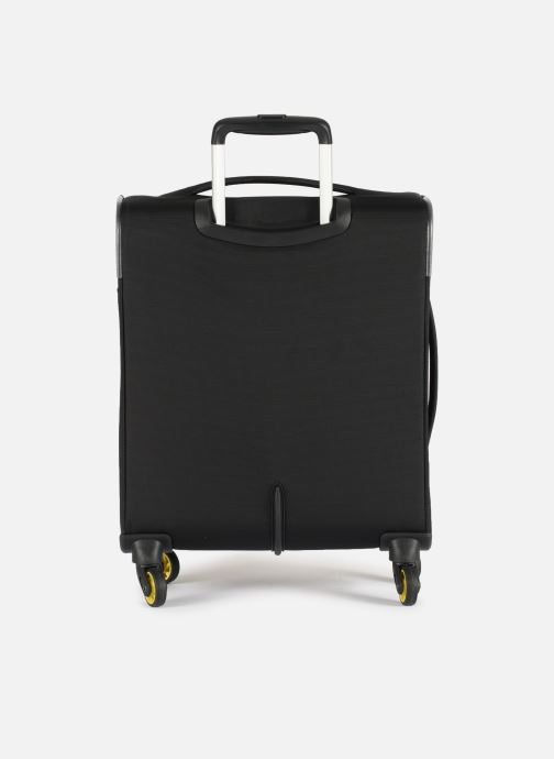Luggage Delsey Chartreuse Valise Tr Slim 4R 55 Black front view