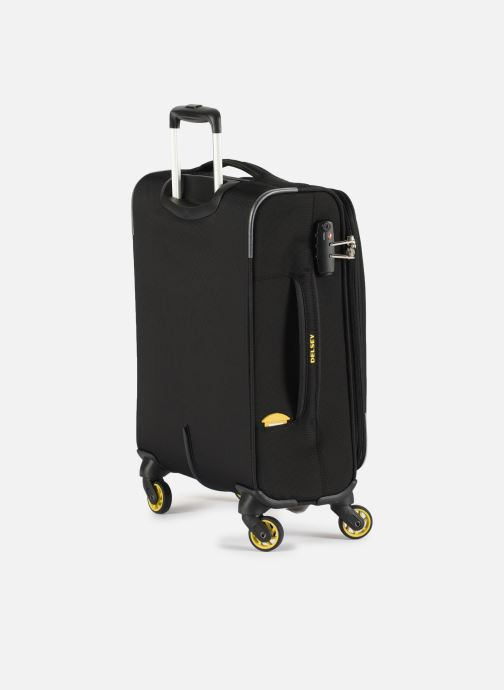 Luggage Delsey Chartreuse Valise Tr Slim 4R 55 Black view from the right