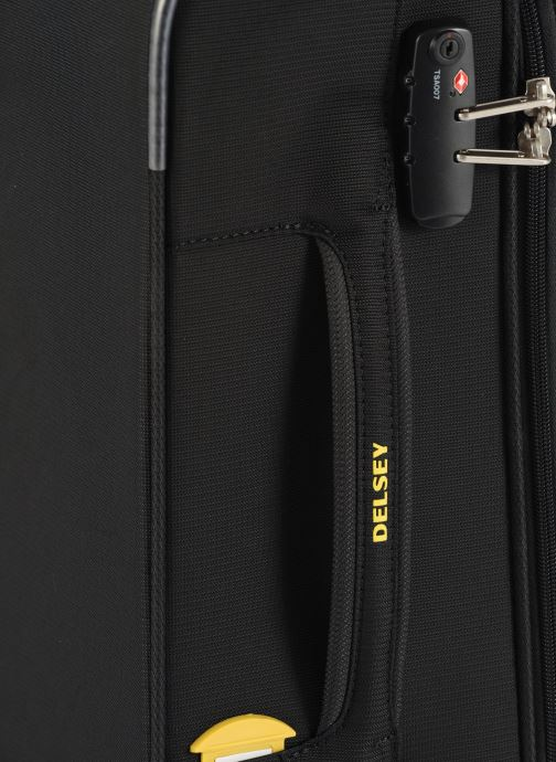 Luggage Delsey Chartreuse Valise Tr Slim 4R 55 Black view from the left