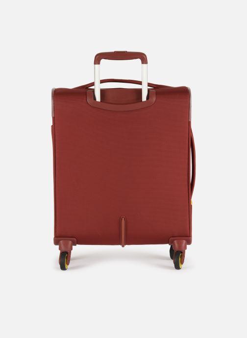 Bagages Delsey Chartreuse Valise Tr Slim 4R 55 Rouge vue face