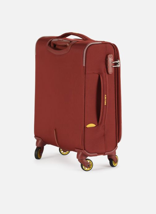 Luggage Delsey Chartreuse Valise Tr Slim 4R 55 Red view from the right