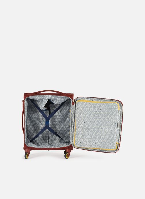 Luggage Delsey Chartreuse Valise Tr Slim 4R 55 Red back view