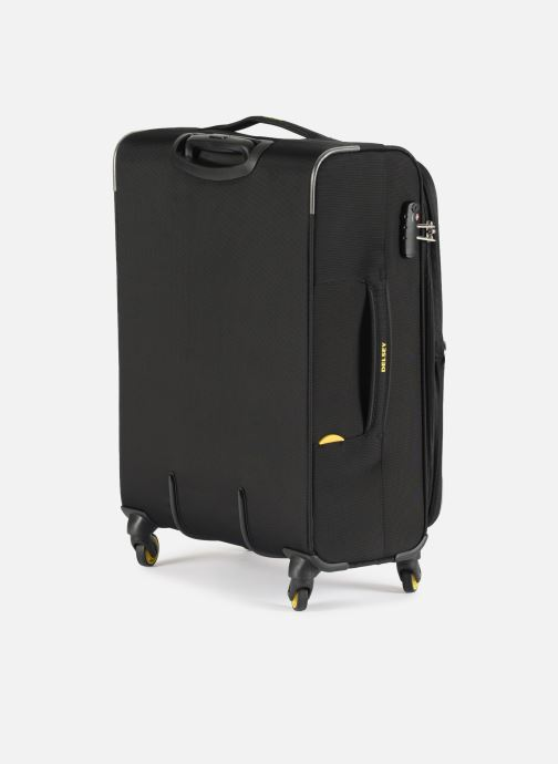 Luggage Delsey Chartreuse Valise Tr Ext 4R 68 Black view from the right