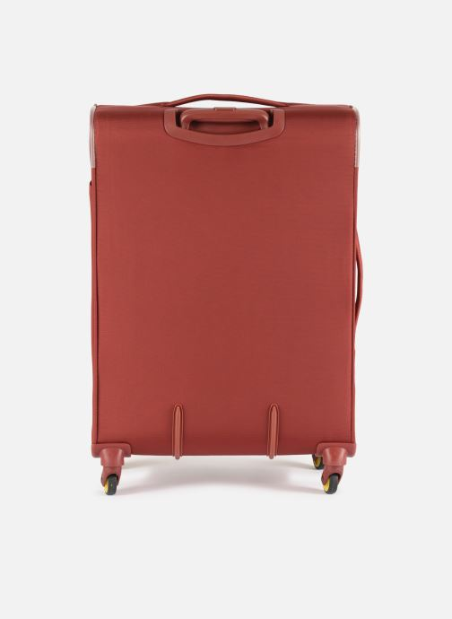 Luggage Delsey Chartreuse Valise Tr Ext 4R 68 Red front view