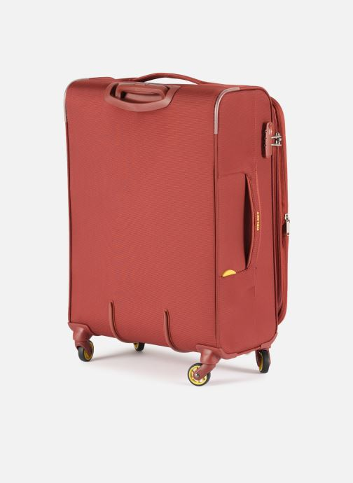 Luggage Delsey Chartreuse Valise Tr Ext 4R 68 Red view from the right