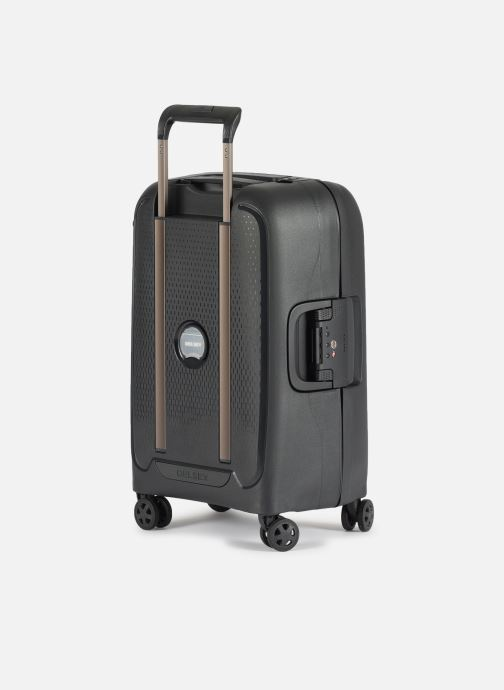 Luggage Delsey Moncey Val Tr Cab 4Dr 55 Black view from the right