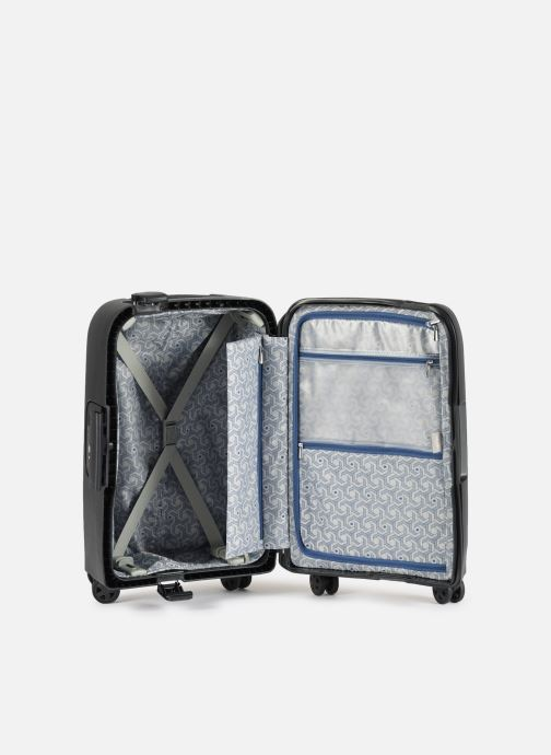 Luggage Delsey Moncey Val Tr Cab 4Dr 55 Black back view