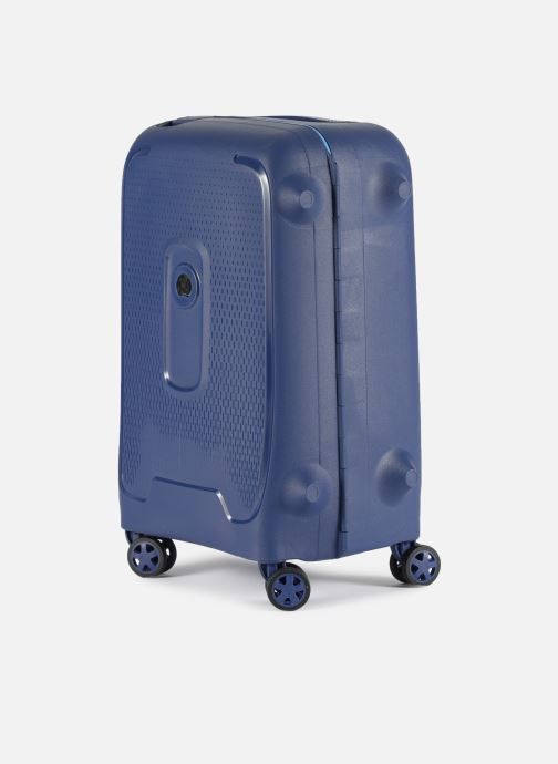Luggage Delsey Moncey Val Tr Cab 4Dr 55 Blue model view