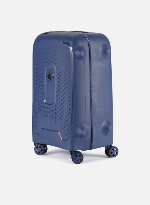 Bagages Delsey Moncey Val Tr Cab 4Dr 55 Bleu vue portées chaussures