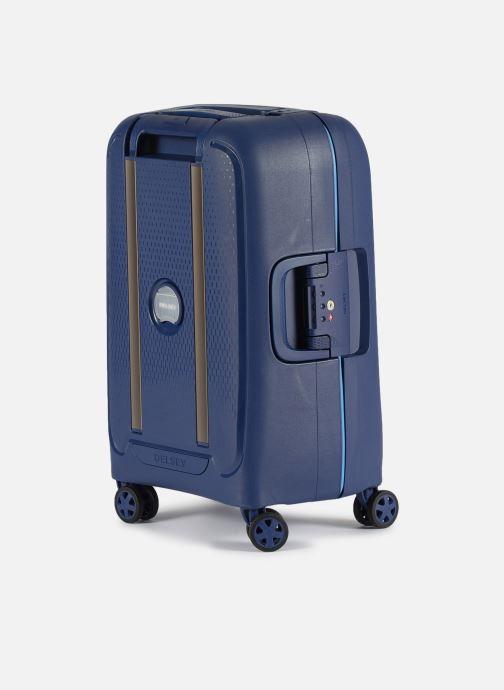 Bagages Delsey Moncey Val Tr Cab 4Dr 55 Bleu vue droite