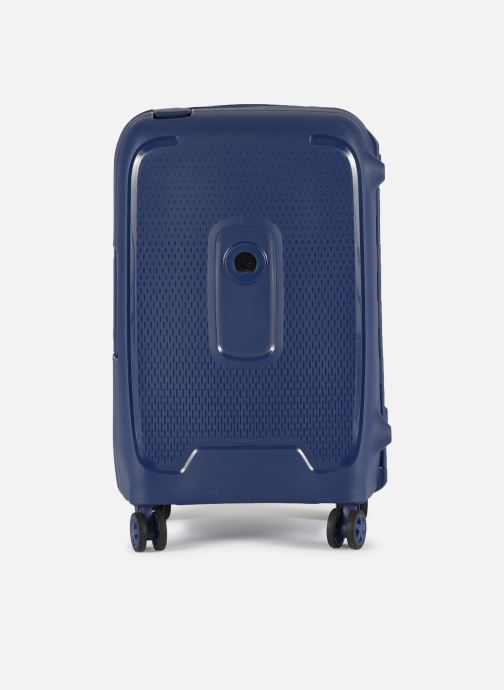 Luggage Delsey Moncey Val Tr Cab 4Dr 55 Blue detailed view/ Pair view
