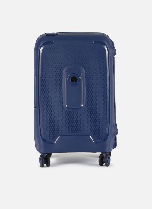Bagages Delsey Moncey Val Tr Cab 4Dr 55 Bleu vue détail/paire