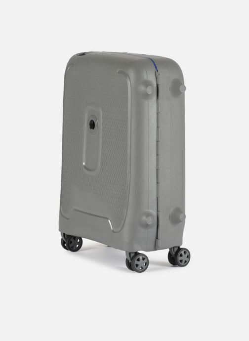 Luggage Delsey Moncey Val Tr Cab 4Dr 55 Grey model view