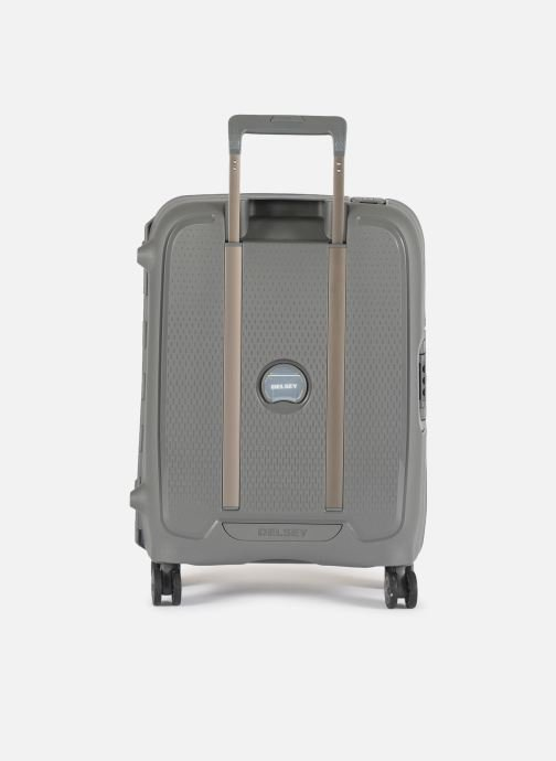 Luggage Delsey Moncey Val Tr Cab 4Dr 55 Grey front view