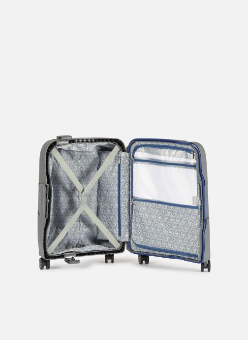 Luggage Delsey Moncey Val Tr Cab 4Dr 55 Grey back view