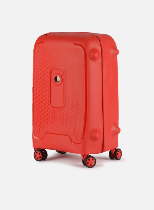 Bagages Delsey Moncey Val Tr Cab 4Dr 55 Rouge vue portées chaussures