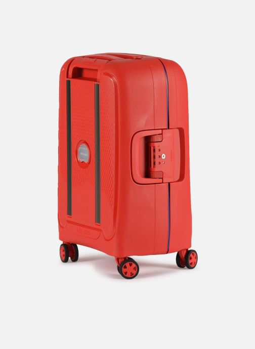 Luggage Delsey Moncey Val Tr Cab 4Dr 55 Red view from the right