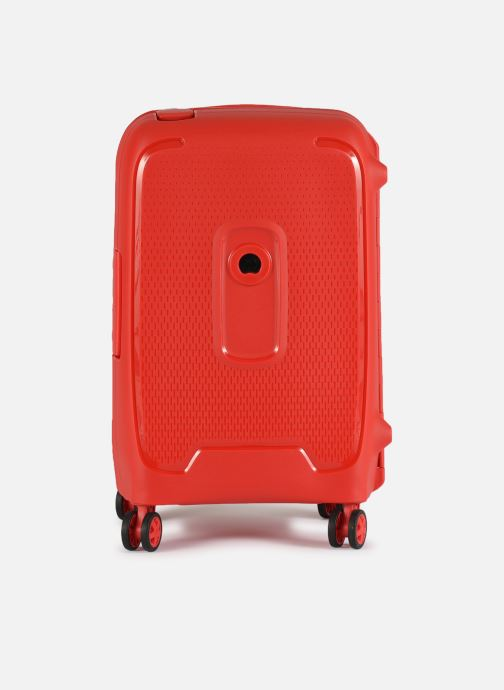 Luggage Delsey Moncey Val Tr Cab 4Dr 55 Red detailed view/ Pair view