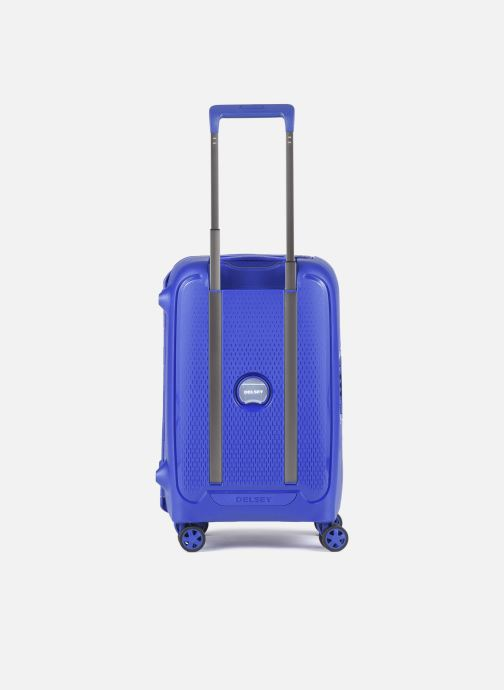 Bagagli Delsey Moncey Val Tr Cab 4Dr 55 Azzurro immagine frontale