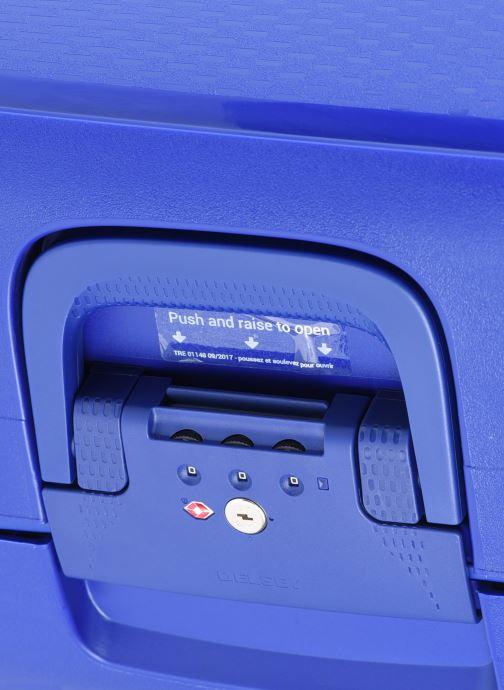 Bagagli Delsey Moncey Val Tr Cab 4Dr 55 Azzurro immagine sinistra
