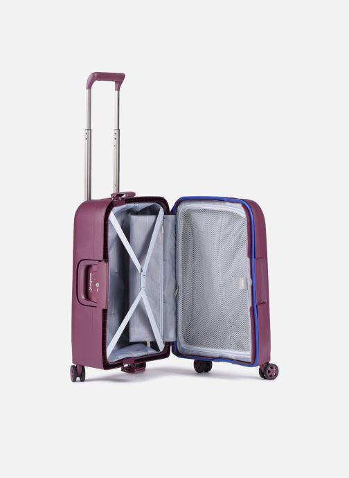 Reisegepäck Delsey Moncey Val Tr Cab 4Dr 55 lila ansicht von hinten