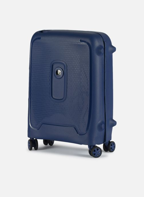 Luggage Delsey Moncey Val Tr Cab Slim 4Dr 55 Blue model view