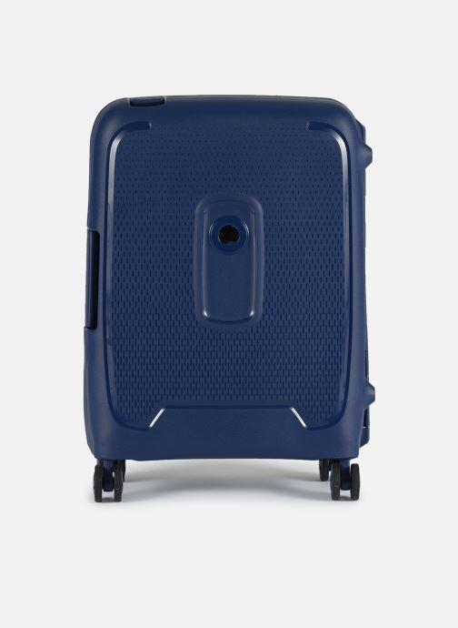 Bagages Delsey Moncey Val Tr Cab Slim 4Dr 55 Bleu vue détail/paire