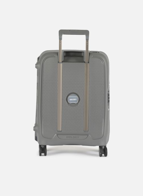 Luggage Delsey Moncey Val Tr Cab Slim 4Dr 55 Grey front view