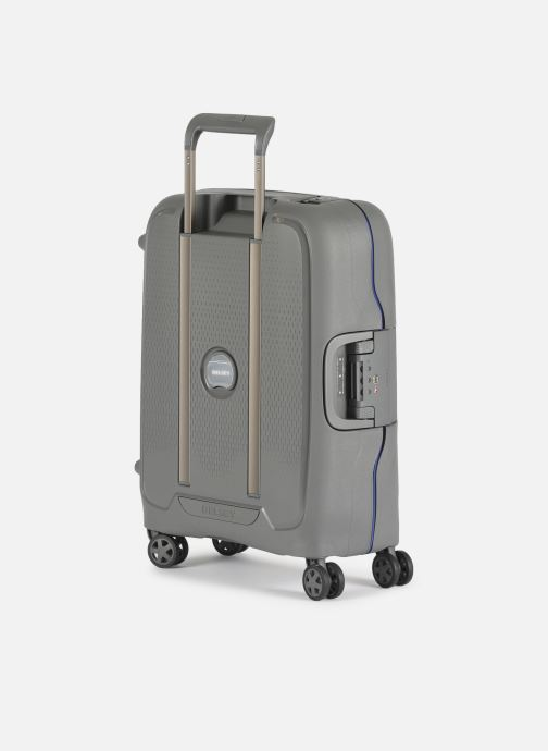 Luggage Delsey Moncey Val Tr Cab Slim 4Dr 55 Grey view from the right