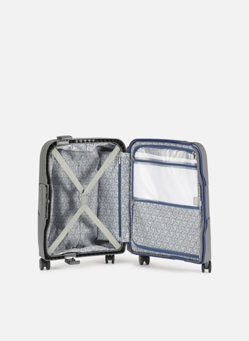 Luggage Delsey Moncey Val Tr Cab Slim 4Dr 55 Grey back view