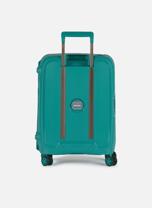 Bagages Delsey Moncey Val Tr Cab Slim 4Dr 55 Vert vue face