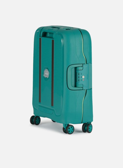 Luggage Delsey Moncey Val Tr Cab Slim 4Dr 55 Green view from the right