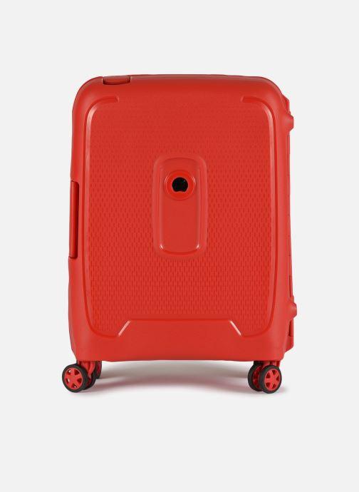 Bagages Delsey Moncey Val Tr Cab Slim 4Dr 55 Rouge vue détail/paire